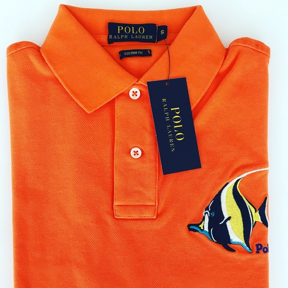 Polo Ralph Men's Shirt Custom By Lauren Nwt Fit hosQCrBtdx